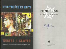 Robert J. Sawyer SIGNED AUTOGRAPHED Mindscan HC 1st Edtion 1st Print *RARE*