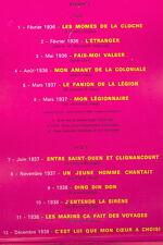 """2 x 33T Edith PIAF Disques LP 12"""" GRANDS SUCCES -MON LEGIONNAIRE PHILIPS 6641141"""