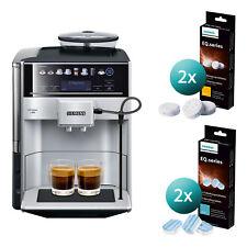 Siemens TE653501DE EQ 6 Kaffeevollautomat Kaffeemaschine inkl. Reinigungsset