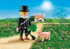 Playmobil 9296 Schornsteinfeger mit Glücksschweinchen Chimney sweep NEW NO BOX