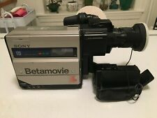 Sony BetaMax BMC-110 Camcorder - Box's, Charger, Battery, Accy's - Tested