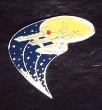 Star Trek 1991 25th Anniversary Classic Enterprise Pin -FREE S&H(TRK-042)