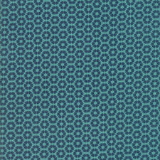 Moda SUNDAY SUPPER Blue Teal Table Cloth 5654 11 Sweetwater Quilting Cotton