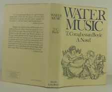 T.C. BOYLE Water Music SIGNED FIRST EDITION