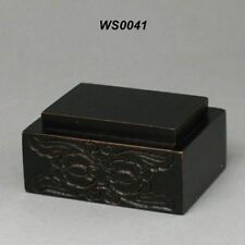 Wood Stand For Figurine, Netsuke Carving Display WS0041