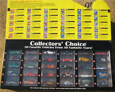 30 HOT WHEELS 30TH ANNIVERSARY CAR SET 1968-1998 CARS COLLECTORS'S CHOICE