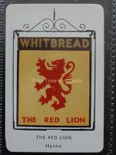 49 Kent HYTHE - THE RED LION 3rd Series (Card) WHITBREAD INN SIGNS 1952