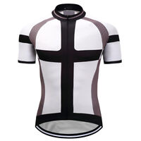 Mens Short Sleeve Cycling Jersey Road Bike Cycling Top Mountain Bike Sports Team
