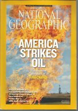 National Geographic March 2013 Fracking North Dakota/Night Gardens/Fuling China