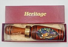 Joe Bucher Heritage Duck Call Original Hand Painted Engraved Signed Mallard New