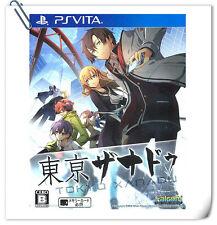 PSV Tokyo Xanadu JAP / 東京幻都 中文版 SONY PLAYSTATION VITA RPG Games Falcom