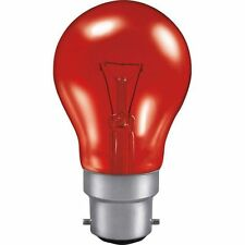 Fireglow Bulb 60watt B.C. Pack of Two Quality Bulbs