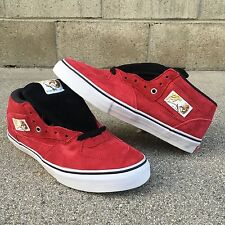 SZ 9 RARE VANS RED SEUDE HALF CAB PRO STEVE CABALLERO 20TH ANNIV. YEAR OF DRAGON