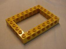 Lego Technic Lochstein 6x8 40345 - gelb yellow 7344 32532 8275 7249 9762