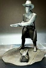 """The Franklin Mint Western Bronzes """"The Outlaw"""" Limited Edition 1976"""