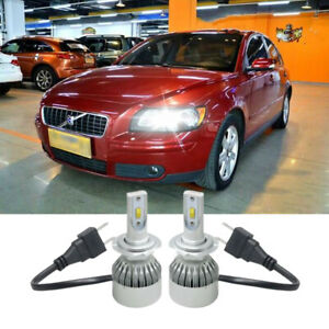Xc70 Xc90 Canbus Error Free 10W LED Sidelight Bulbs For Volvo S40 V50 C70 04