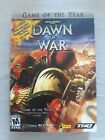 Dawn Of War Computer Game Complete 3 Disc Set With Original Box And Supplements