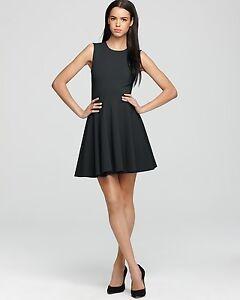 NEW DVF Diane von Furstenberg JEANNIE Black Cocktail Dress 4