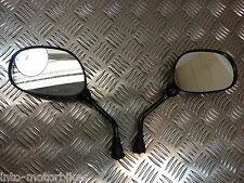 Yamaha XV Virago XJ XJR 250 535 400 600 750 Mirrors Pair Black 10mm Fixing