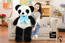 """47"""" GIGANTE ENORME CINESE Panda Orsacchiotto peluche peluches bambola regalo 120 cm UK"""