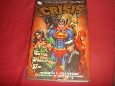 IDENTITY CRISIS HC Brad Meltzer DC Comics 1st Print 2005 VF