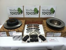 Toyota Tacoma 1999-2004 Genuine OEM Front Brake Rotors, Pad Kit, Shims and Pins