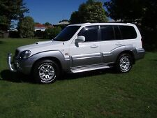7 seater 4x4 hyundia terracan 2.9 turbo diesel 5 speed manual wagon