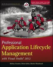 Professional Application Lifecycle Management with Visual Studio 2012 by...