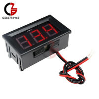 "0.56"" Volt Meter Voltmeter LED Panel DC 4.5-30V 3 Digital Displays Voltage Red"
