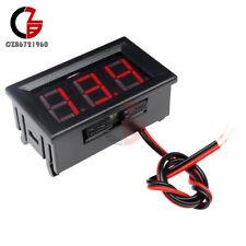 """0.56"""" Volt Meter Voltmeter LED Panel DC 4.5-30V 3 Digital Displays Voltage Red"""