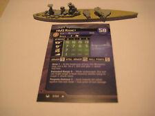 AXIS & ALLIES WAR AT SEA HMS Rodney x1