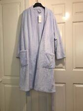 Ladies M&S Blue House Coat Size 20-22