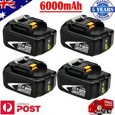 For Makita BL1860B Lithium-Ion Battery 18V 6.0AH BL1850B LXT400 BL1830B BL1840B