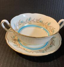 Vintage Royal Doulton Prelude Cream Soup & Saucer