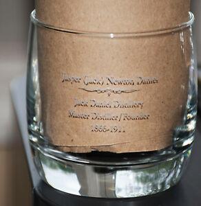 Jasper (Jack) Newton Daniel Jack Daniel Distillery Rocks Glass Master Distiller