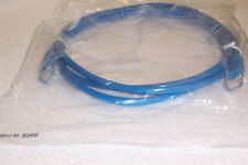 NEW 2 METRE RJ45 UNSHIELDED BOOTED CABLE BLUE COLOUR
