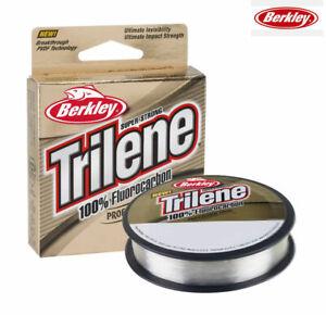 Berkley Trilene 100% Fluorocarbon Tippet / Leader Line 50m Spool - All B/Strains