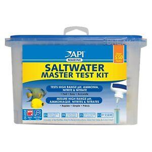 API Saltwater Master Test Kit Nitrate, Ammonia, Nitrite, pH Over 550 TESTS