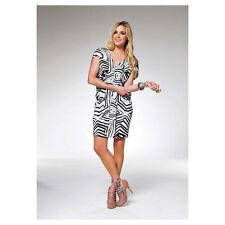 V-Neck Special Occasion Geometric Dresses for Women