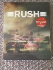 RUSH STEELBOOK [NEW/OOP/Blu-ray] Limited Lenticular Slip Edition #1148/2500