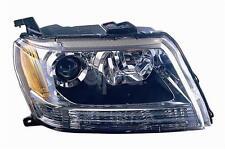 Suzuki Grand Vitara Sport Utility 06-08 Headlight Lamp 35120-65J01 35120-65J00 R