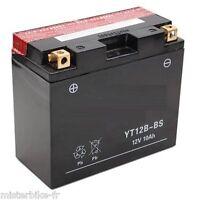 Batterie Moto Scooter YT12B-BS yt12bbs 12V 11A DUCATI YAMAHA APRILIA R6 R1 Z1000
