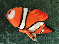 "Disney Finding Nemo Plush Stuffed Animal Authentic Disney Store 10"" Mini Bean"