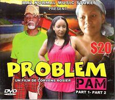 PROBLEM PAM-Tonton Dezirab Haitian Comedy DVD Humor Comedy Parody Satire Creole
