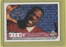 1998 UD Choice Prime Reserve Simeon Rice Cardinals Seminoles #85/100