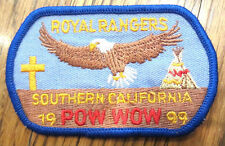 Royal Rangers Rr Uniform Patch So-Cal Pow Wow Eagle 1999 California