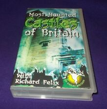 MOST HAUNTED CASTLES OF BRITAIN VHS PAL