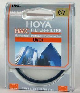HOYA 67mm HMC UV (C) Digital Slim Frame Multi-Coated UV Filter A-UVC NEW  HOYA
