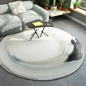 Nordic Round Carpets for Living Room Bedroom Area Rugs Floor Mats Home Decor