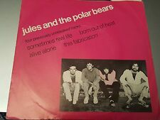 "JULES AND THE POLAR BEARS ""4 SONG promo EP"" 7"" USA E W/ PIC SLV GREAT PRICE!"